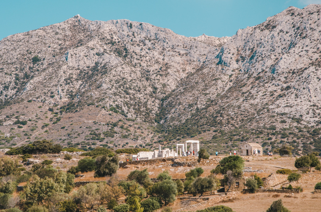 things to do in naxos - temple of demeter