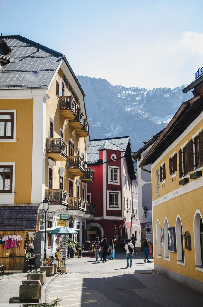 visiting hallstatt - where to stay in hallstatt - hallstatt city center