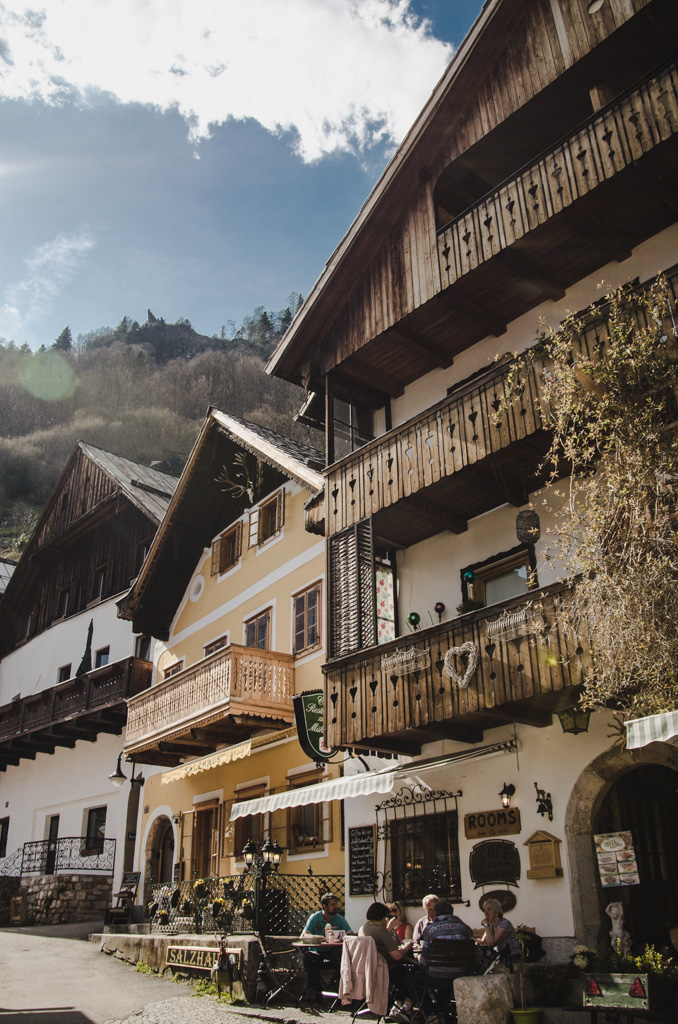 visiting hallstatt - where to stay in hallstatt - streets of hallstatt