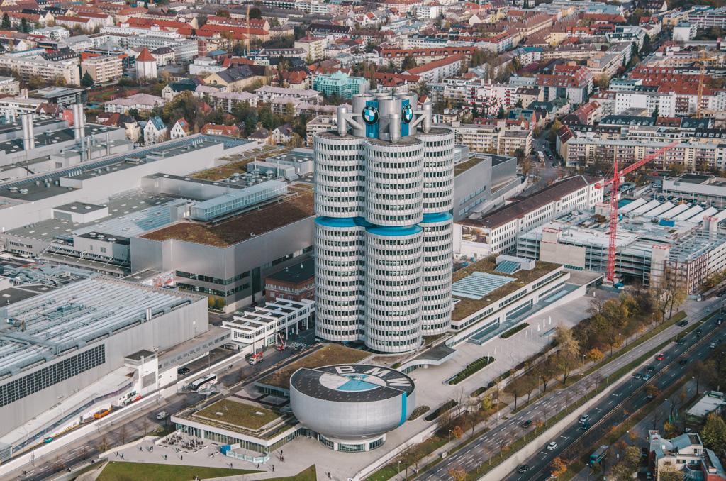 atrakcje monachium - co warto zobaczyć w monachium - zabytki monachium - fabryka BMW