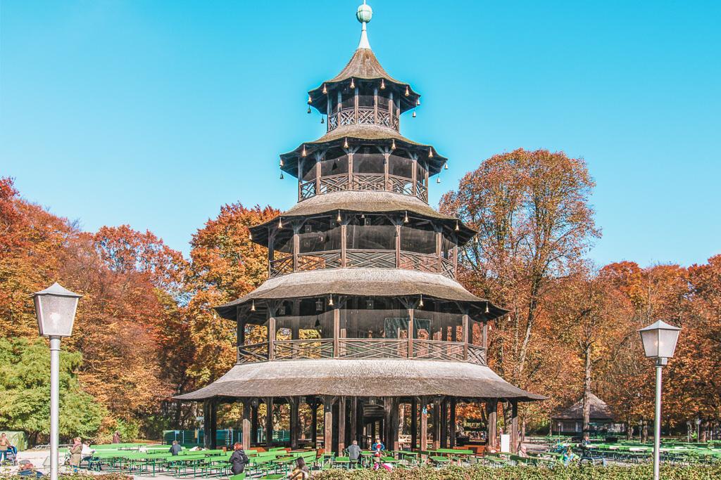 atrakcje monachium - co warto zobaczyć w monachium - zabytki monachium - Chińska Wieża