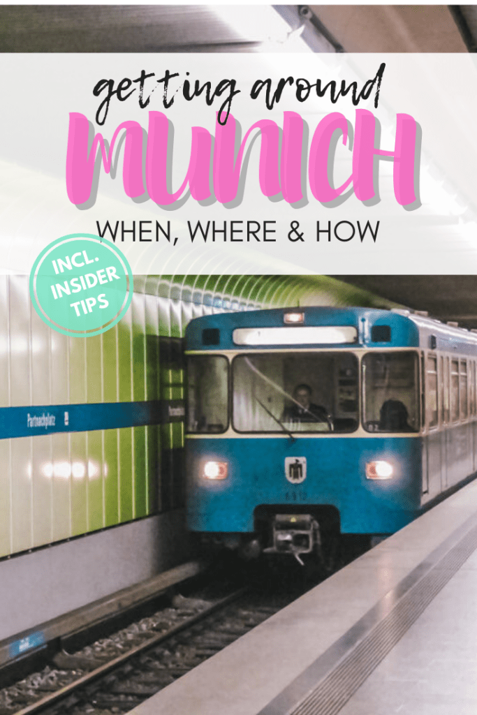 How to get around Munich using Munich public transport? When to go to Munich? How to get to the city center from the Munich airport?