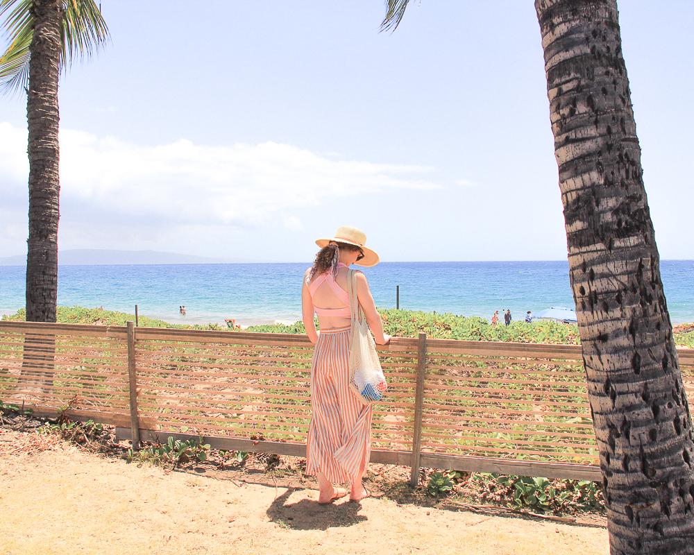 summer beach style Maui