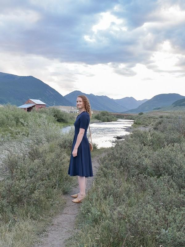 Date Night Dress in Crested Butte