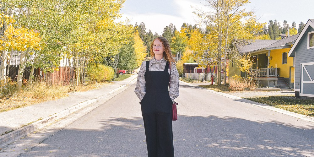 Fall Layered Jumpsuit