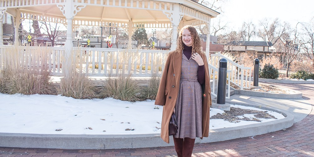 Winter Gal Meets Glam Dress