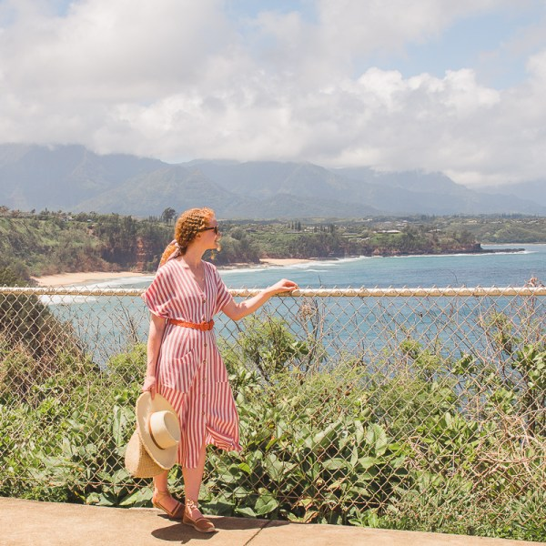 Nautical Striped Dress To Pack for Vacation