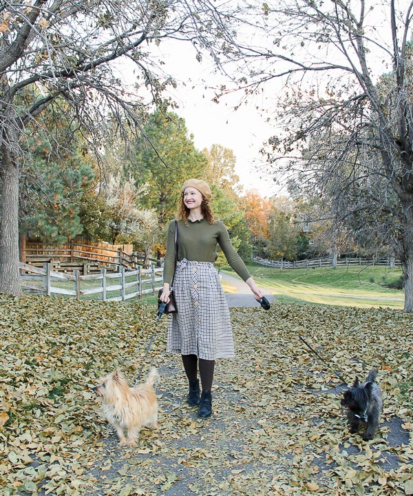 A Walk In The Park & Parisian Autumn Style