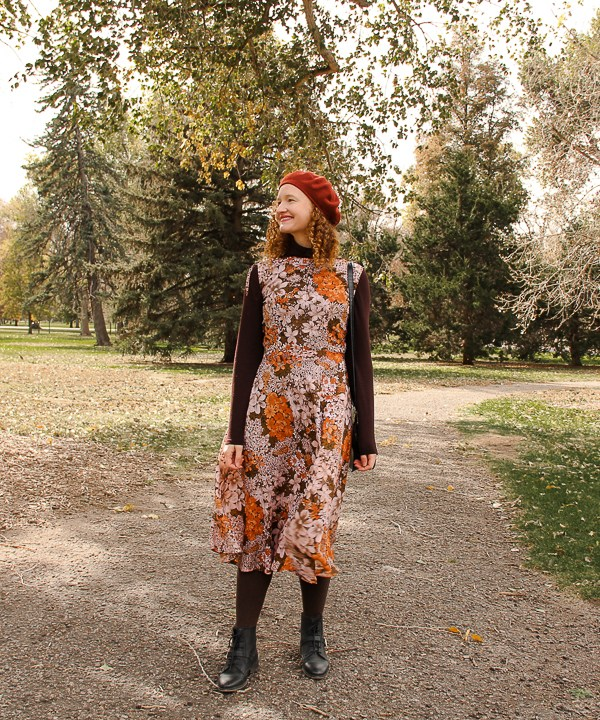 Floral Autumn Dress