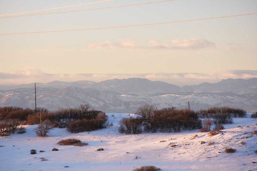 Winter in Colorado - Daniels Park