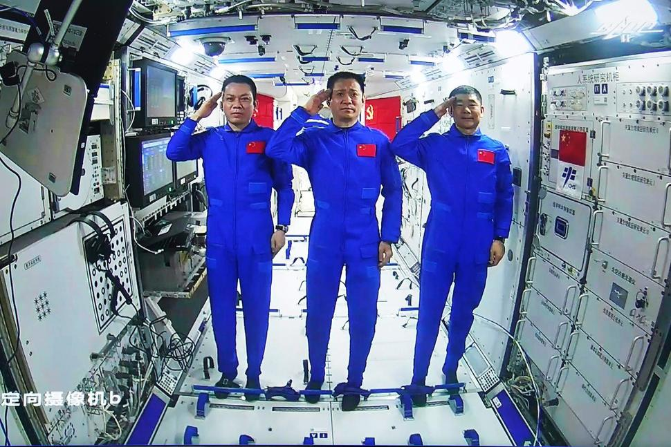 China's space team