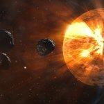 Space Rocks Bounced Early Earth Towards Venus