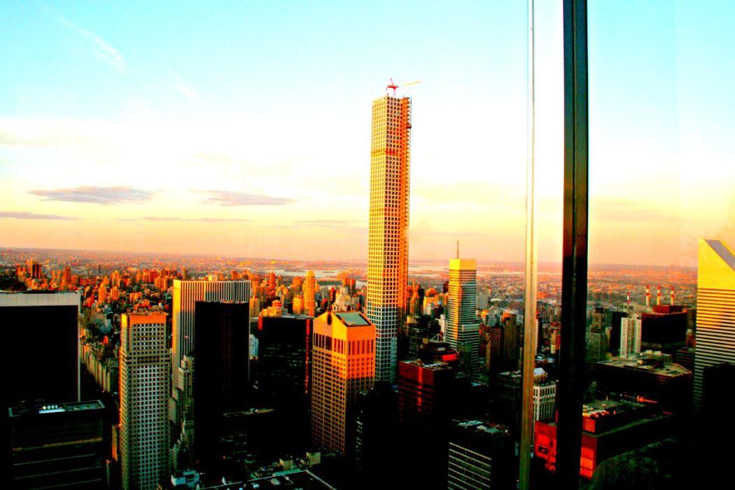 Sonnenuntergang in New Yok City