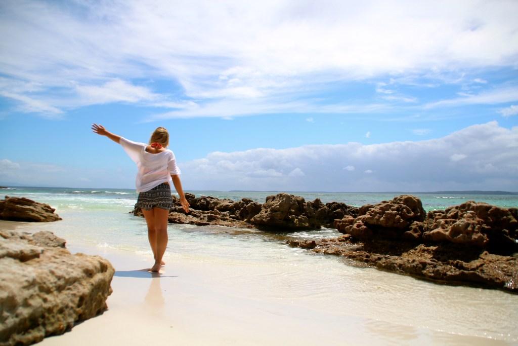 Der weißeste Strand der Welt zwischen Sydney- Melbourne