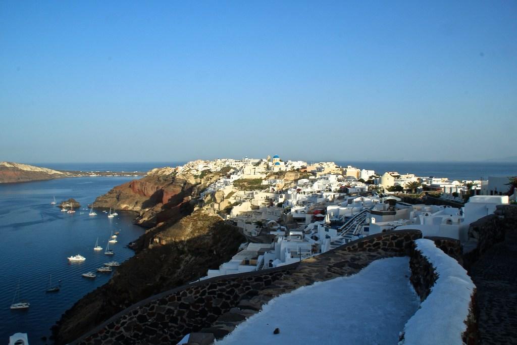 Wanderweg von Oia nach Fira