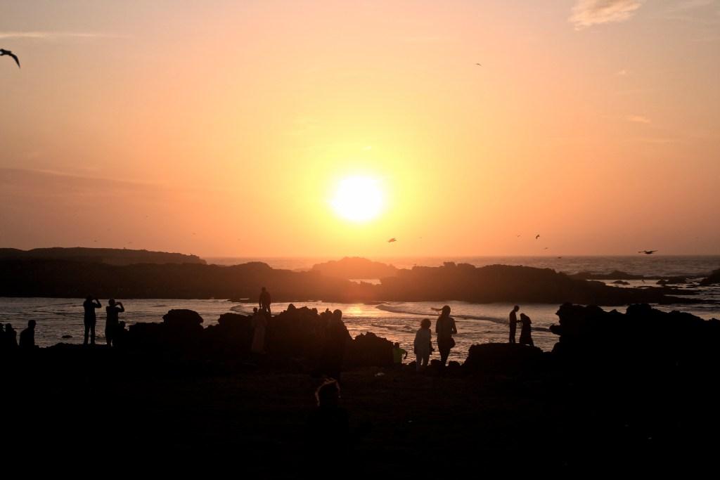 Sonnenuntergang Essaouria
