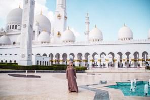 Sheikh Zayed Grand Moschee, Abu Dhabi