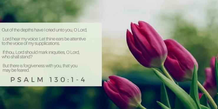 Psalm 130:1-4