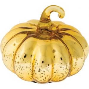 Luna Bazaar Gorgeous Mercury glass pumpkin $21.85 shop now!