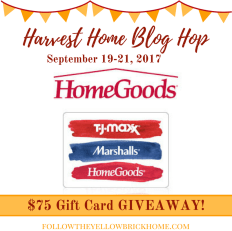 $75 Home Goods, TJ Maxx and Marshalls Gift Card Giveaway!