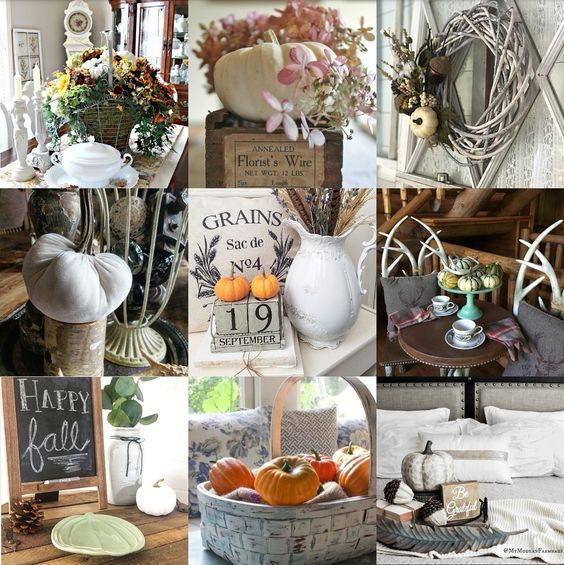 Gorgeous Fall Home Tour Fall Blog Hop hosted by Follow The Yellow Brick Home