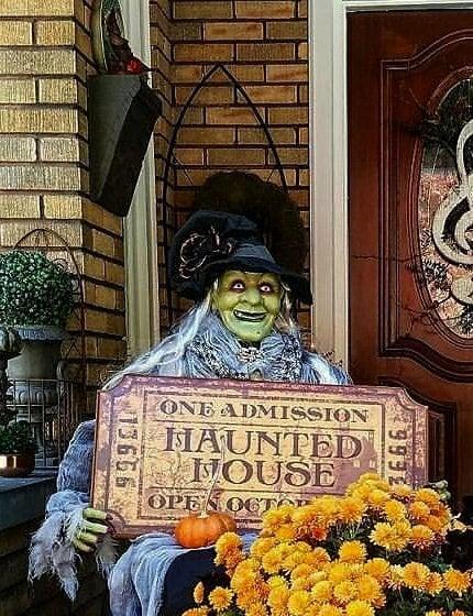 Adorable Halloween Porch Decorations Easy Halloween Porch Decorating Ideas
