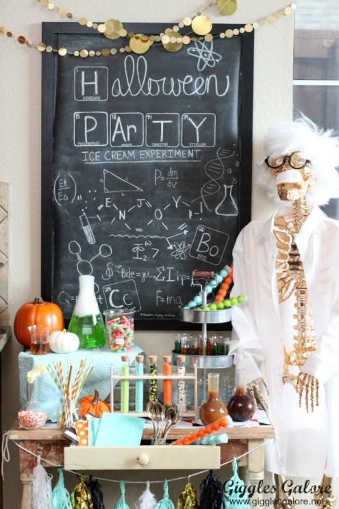 Creative kids Halloween Party Ideas Mad Scientist