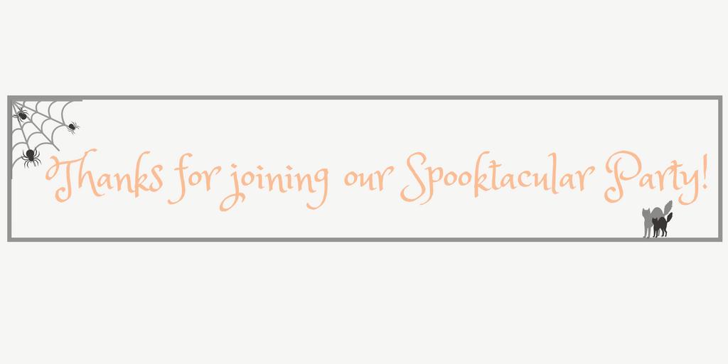 Spooktacular Halloween Blog Party Link Up