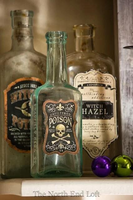 Cool halloween bottles vintage bottles
