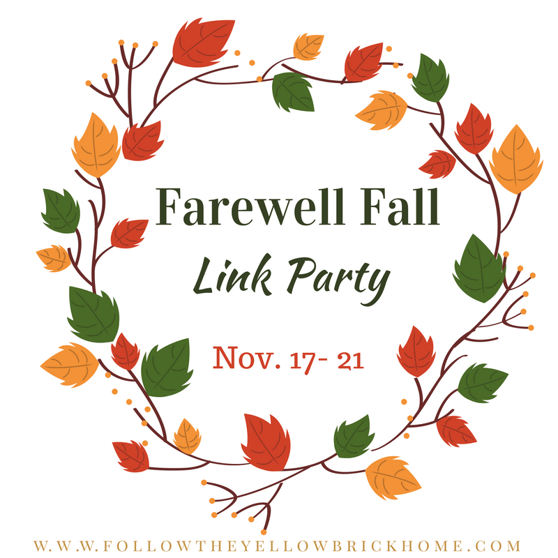 Fall Blog Party Link Up