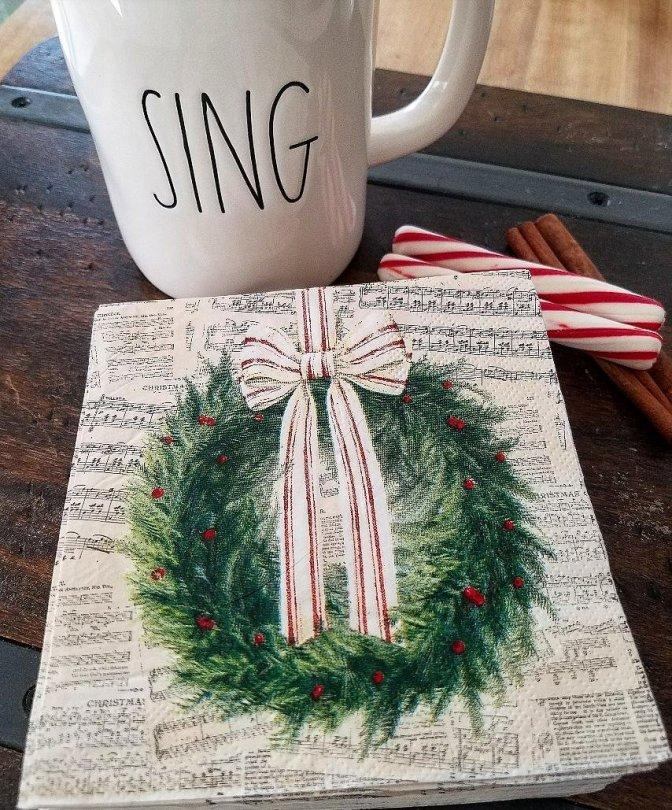 Rae Dunn SIng mug Christmas