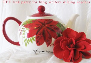 Thursday Favorite Things Blogger Link party blog party TFT