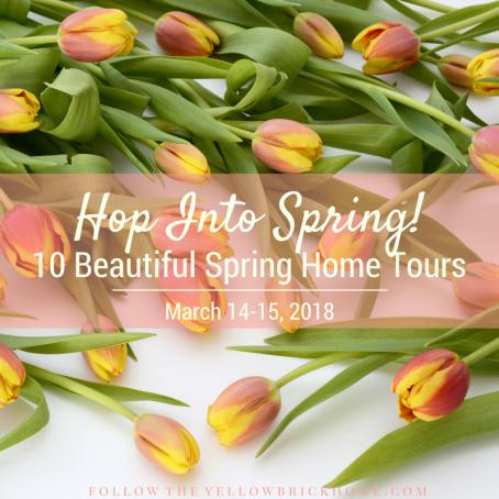 10 Beautiful Spring Home Tours Spring Decor