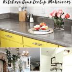Follow The Yellow Brick Home Amazing Diy Kitchen Countertop Makeovers Follow The Yellow Brick Home