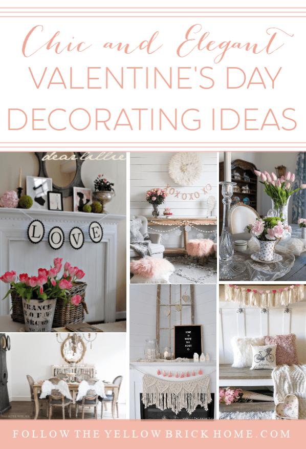 Gorgeous Chic and Elegant Valentine's Day Decorating Ideas Blush Pink Valentine's Day Decor