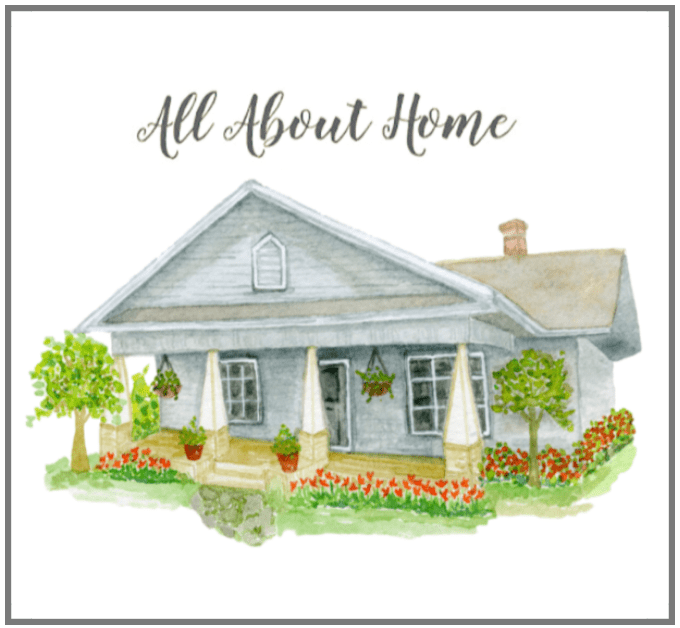 All About Home Blogger Link Party Home Decor, Crafts, DIY's, vintage style, gardening and more!