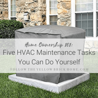 DIY HVAC maintenance and cleaning