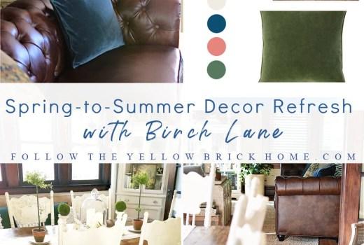 Spring to Summer Decorating Ideas Birch Lane Spring Decor Summer Decor ideas