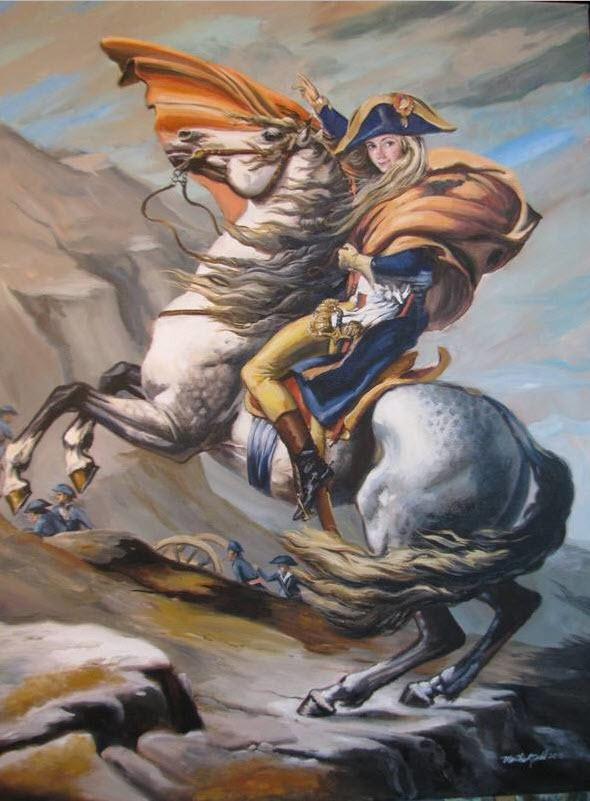 Natasha as Napoleon