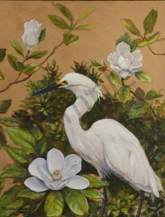 Snowy Egret wall art