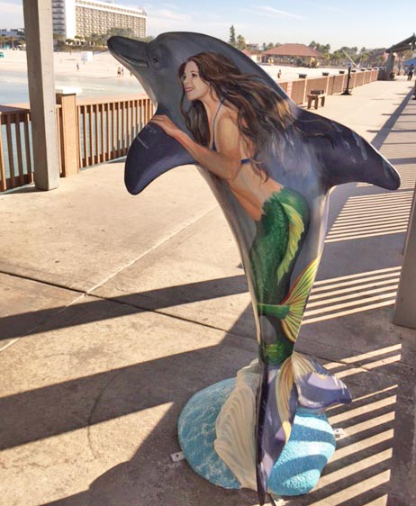 A Dolphin for Pier 60 on Clearwater Beach
