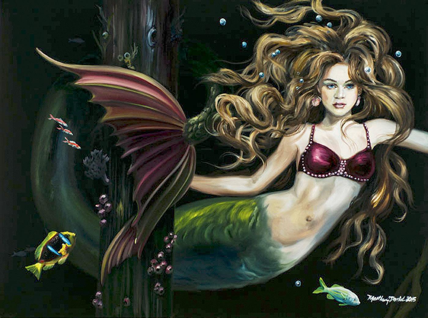 Mermaid Original Painting