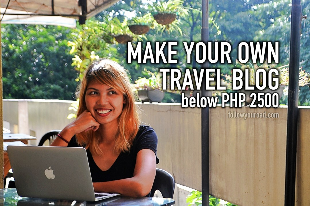 own travel blog