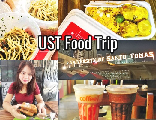 ust food trip map