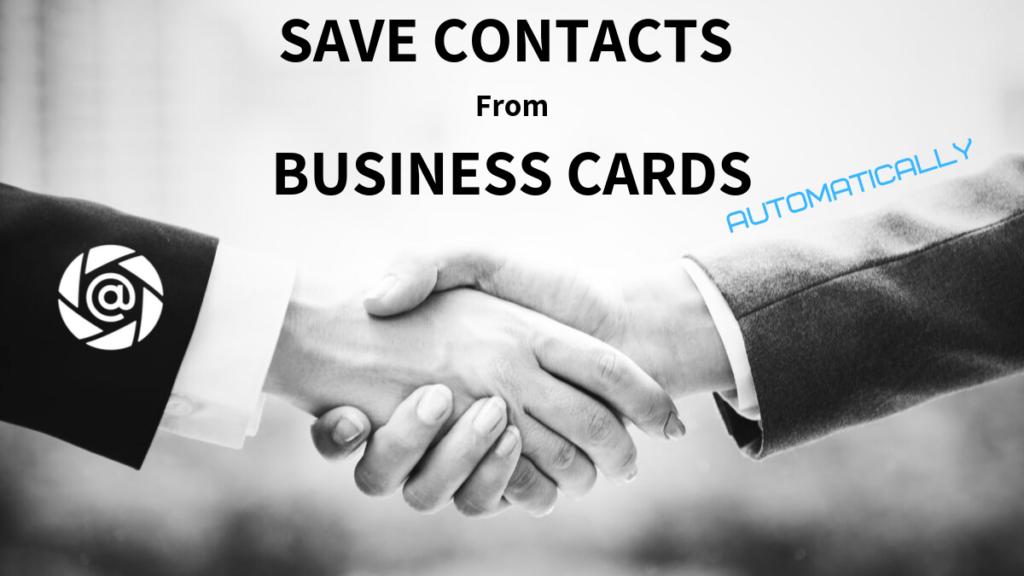 free business cards to contact saving with follow up app folocard