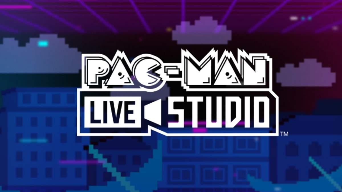 Pac-Man Live Studio logo