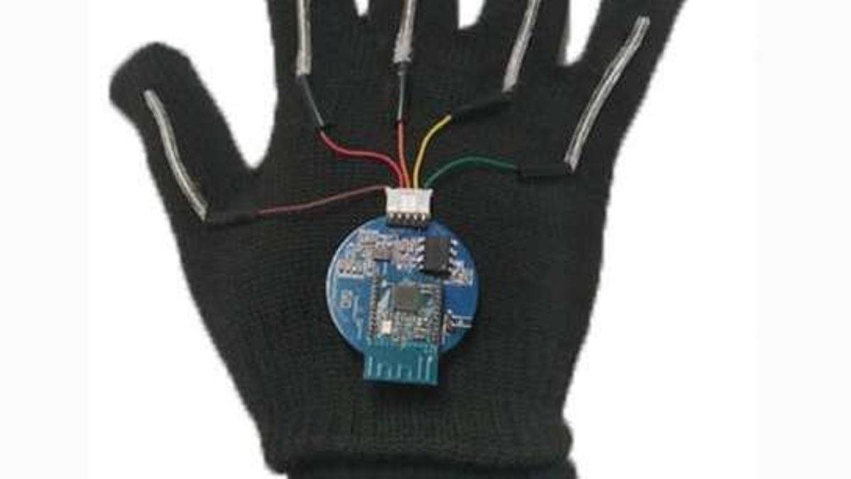 guante señas