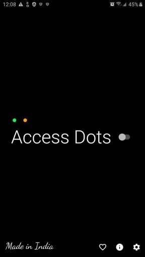 Access Dot desactivado