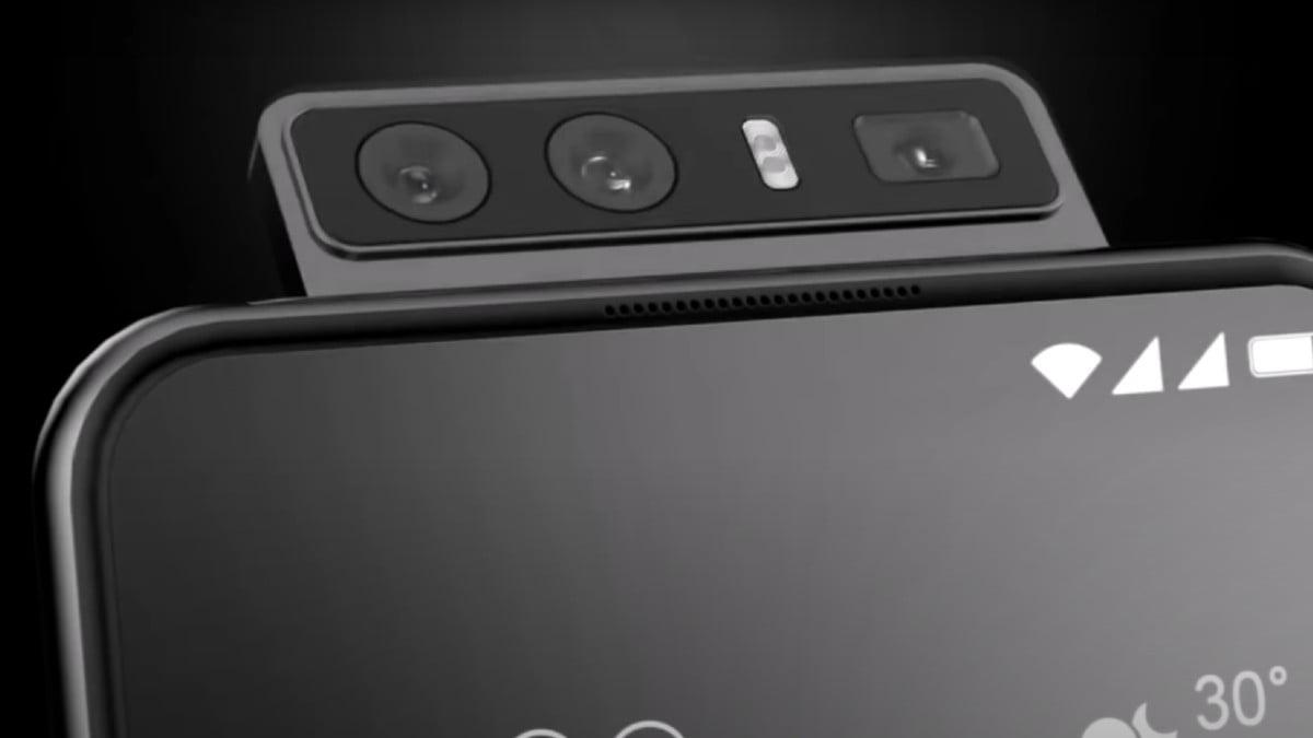 Asus ZenFone 7 camara flip