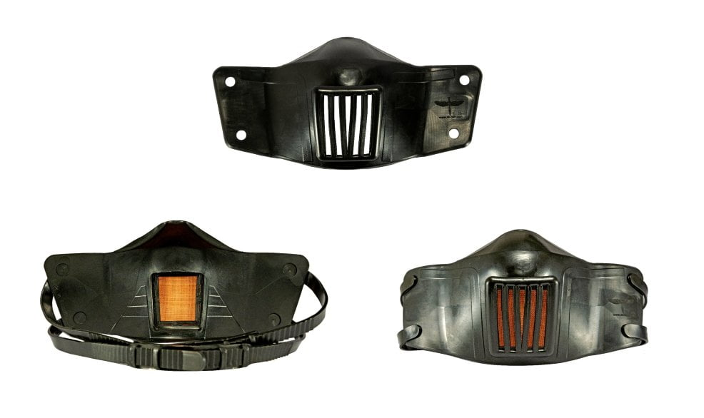 Antimicrobial Tactical Mask